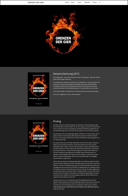 Webseite zum Buch Grenzen der Gier