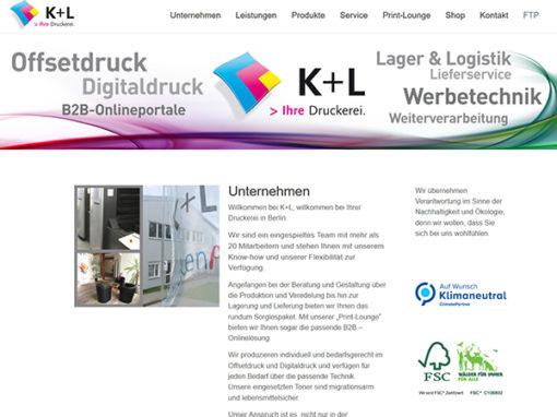K+L – Ihre Druckerei